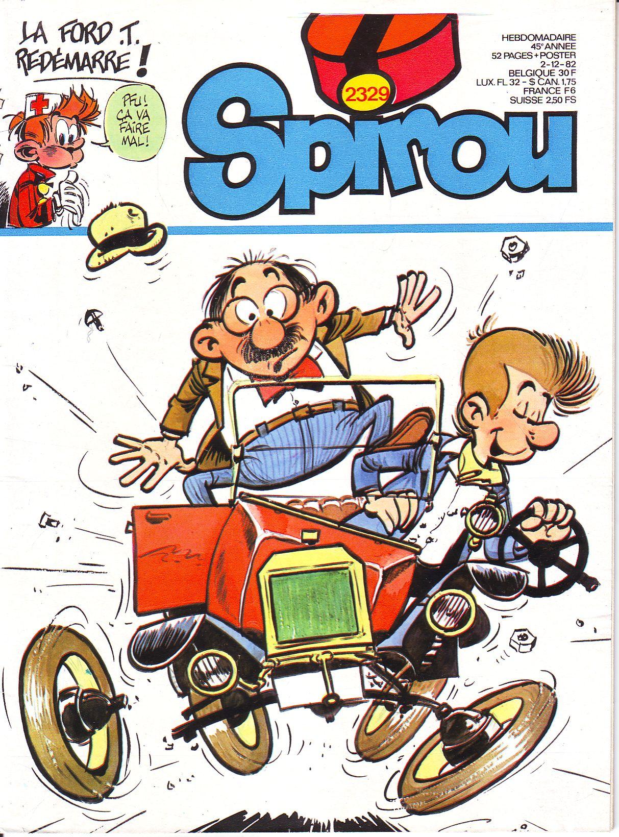 Le journal de Spirou 2329