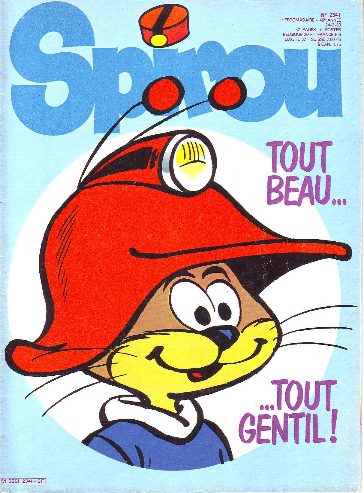 Le journal de Spirou 2341