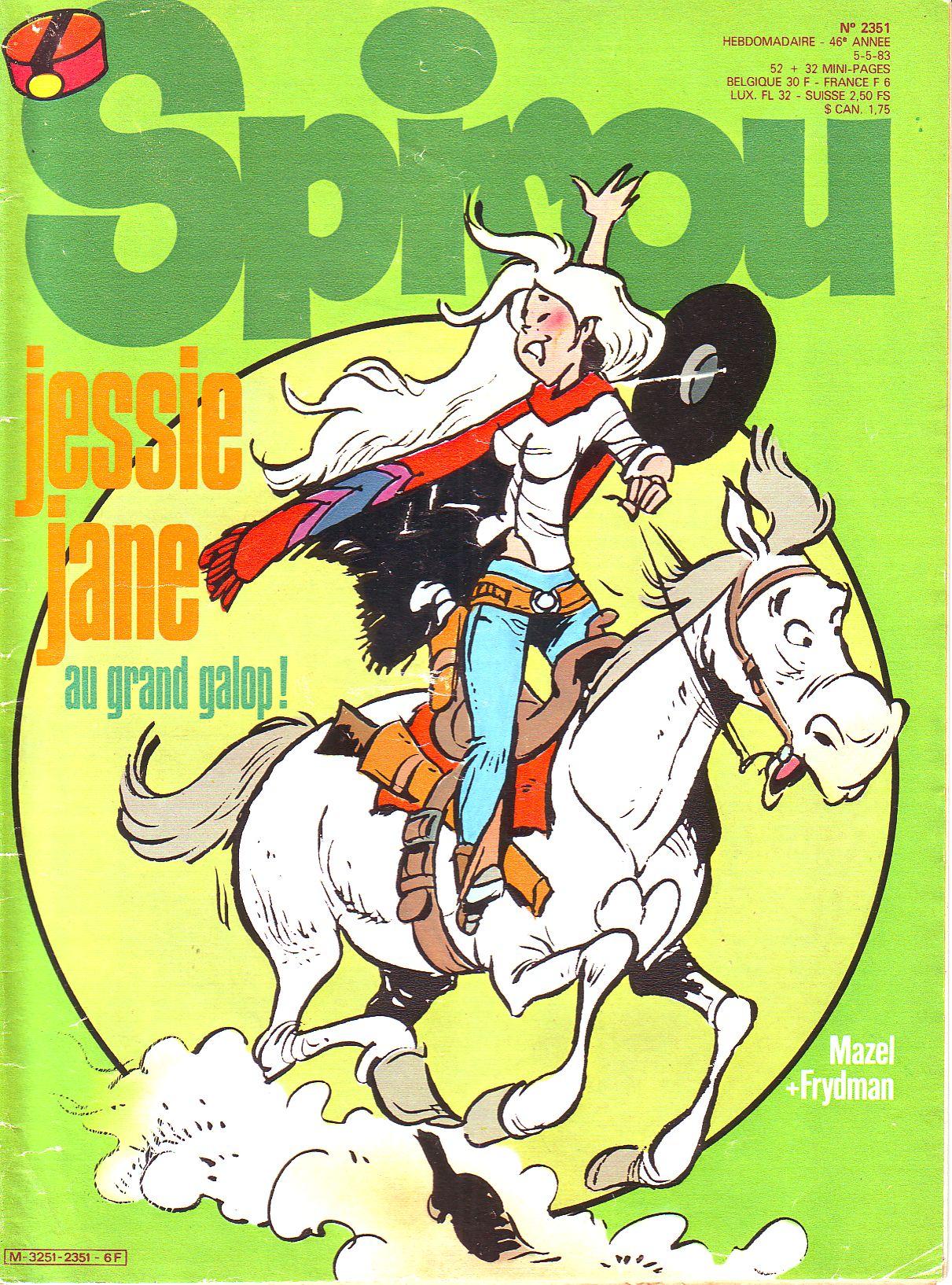 Le journal de Spirou 2351