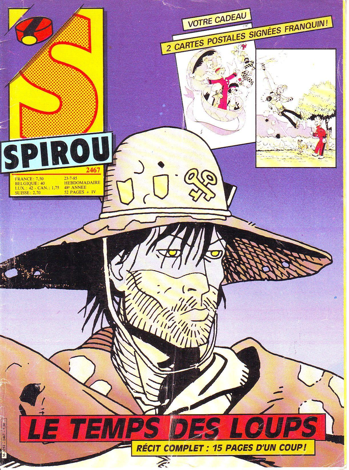 Le journal de Spirou 2467