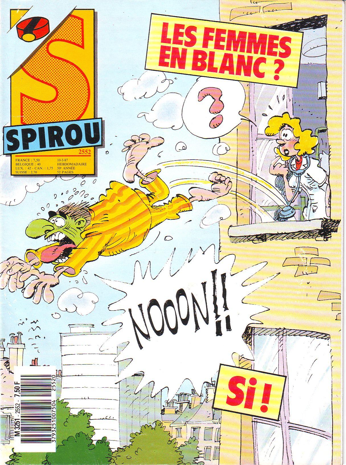 Le journal de Spirou 2552