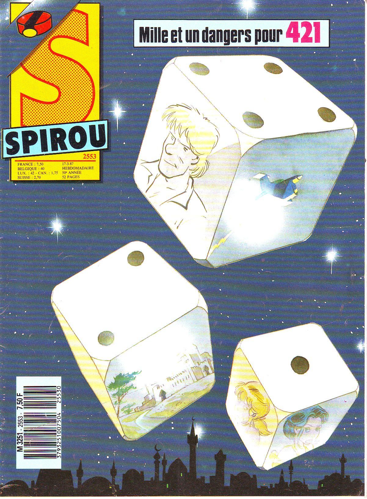 Le journal de Spirou 2553