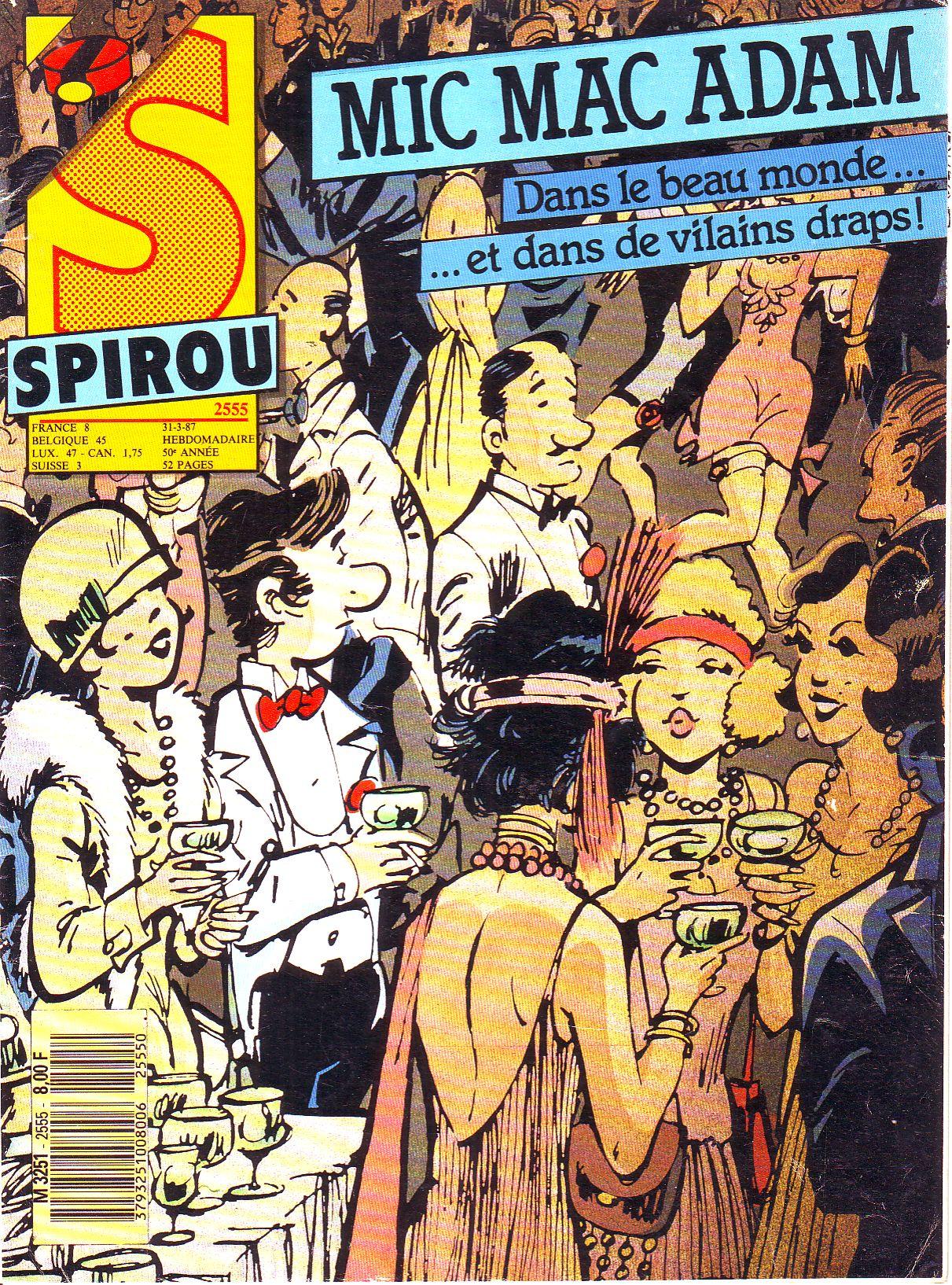 Le journal de Spirou 2555