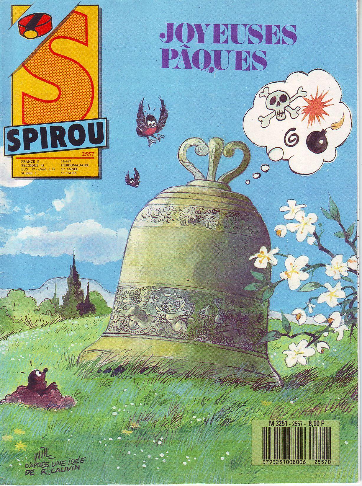 Le journal de Spirou 2557