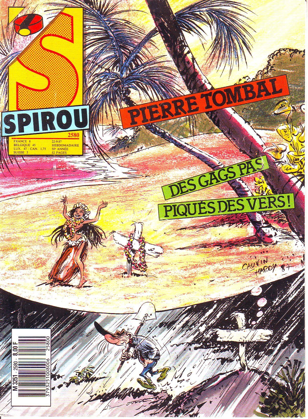 Le journal de Spirou 2580