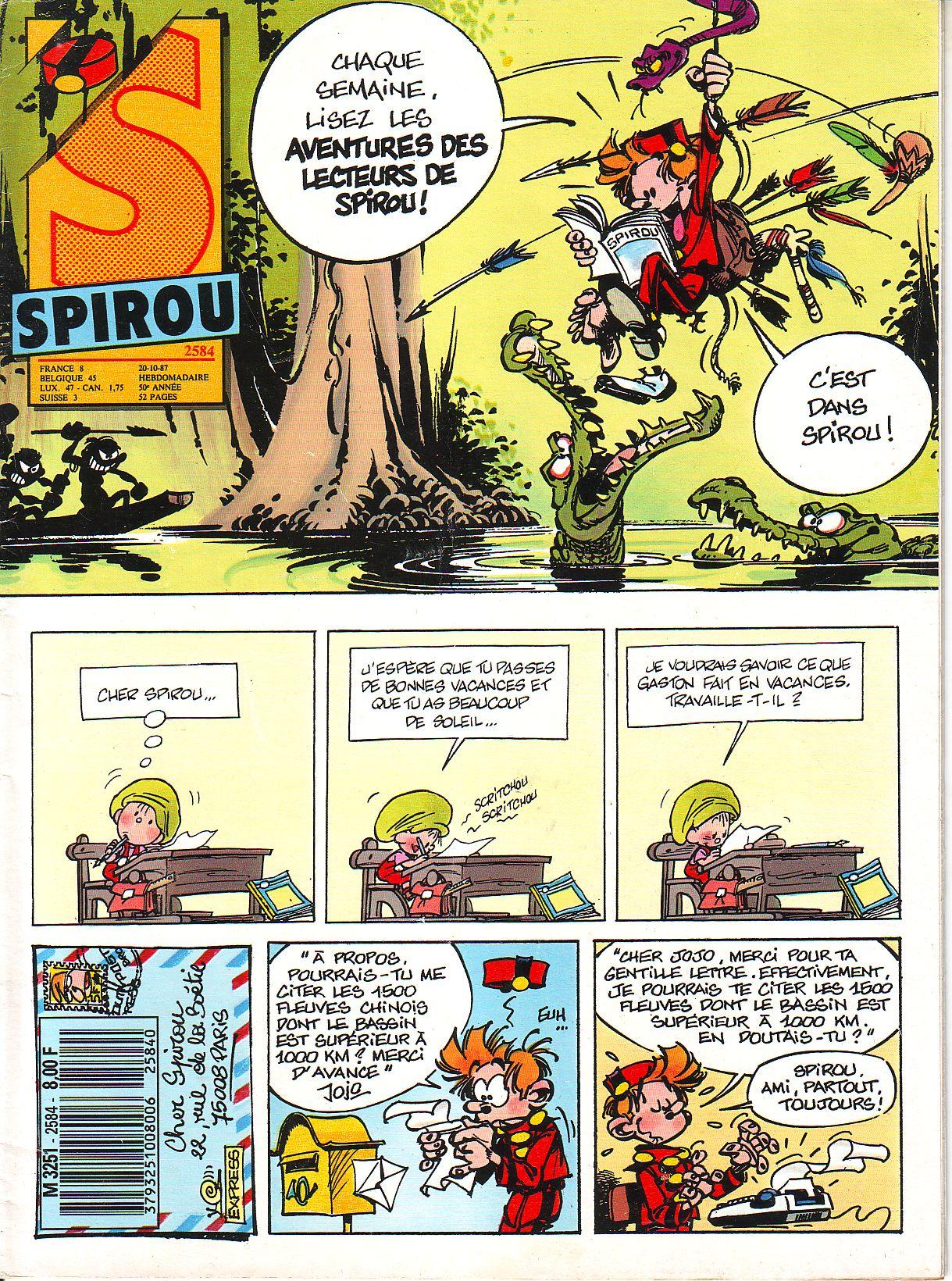 Le journal de Spirou 2584