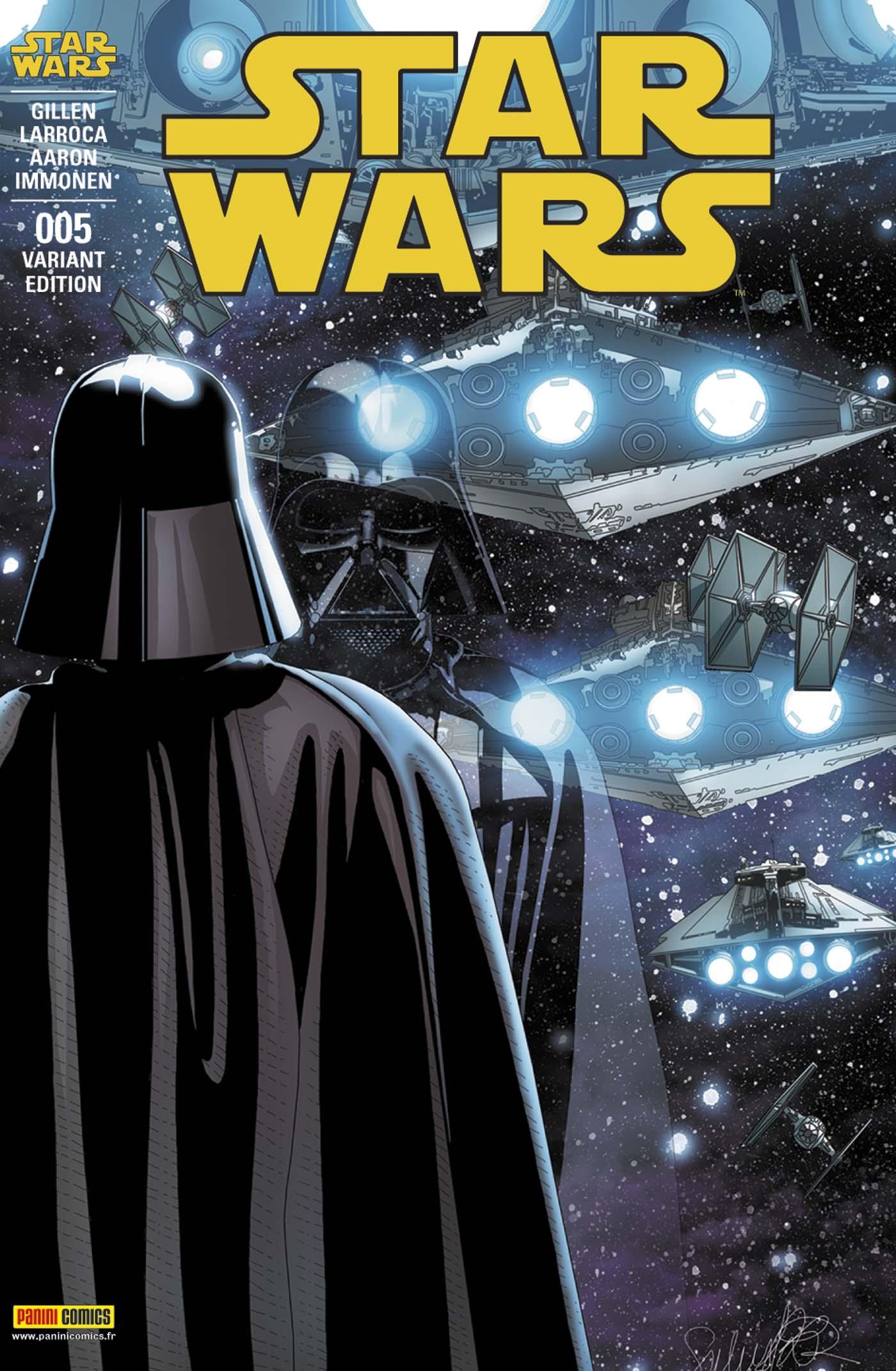 Star Wars 5 - couverture 2/2 (Salvador Larroca – tirage 50%)