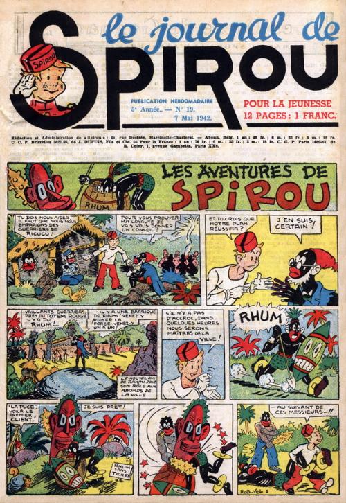 Le journal de Spirou 212