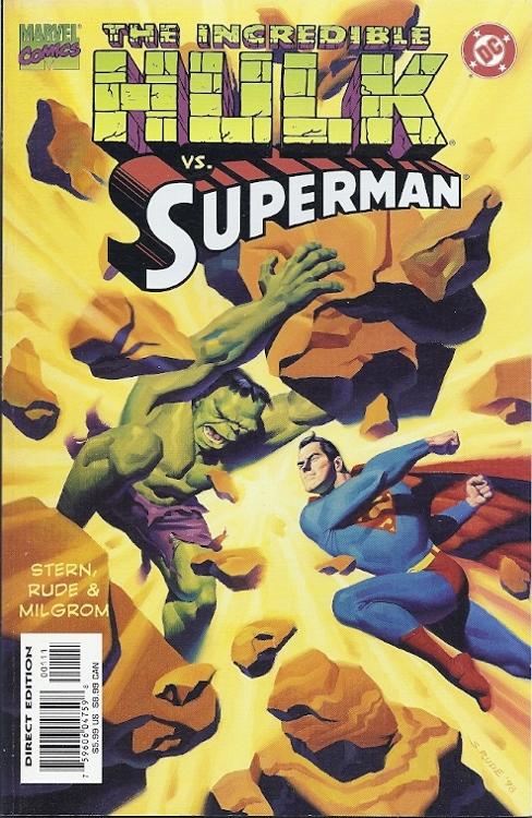 The Incredible Hulk vs Superman 1