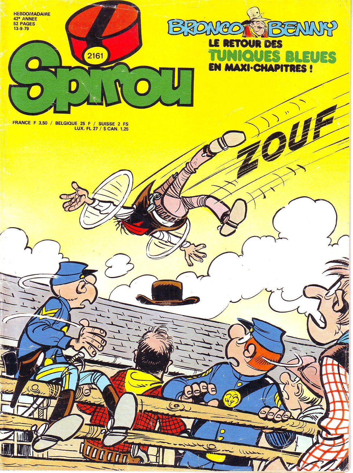 Le journal de Spirou 2161