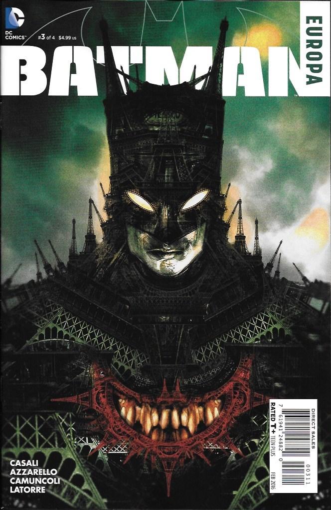 Batman - Europa 3 - Paris