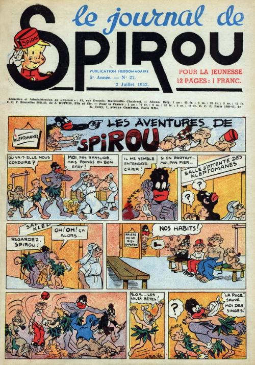 Le journal de Spirou 220