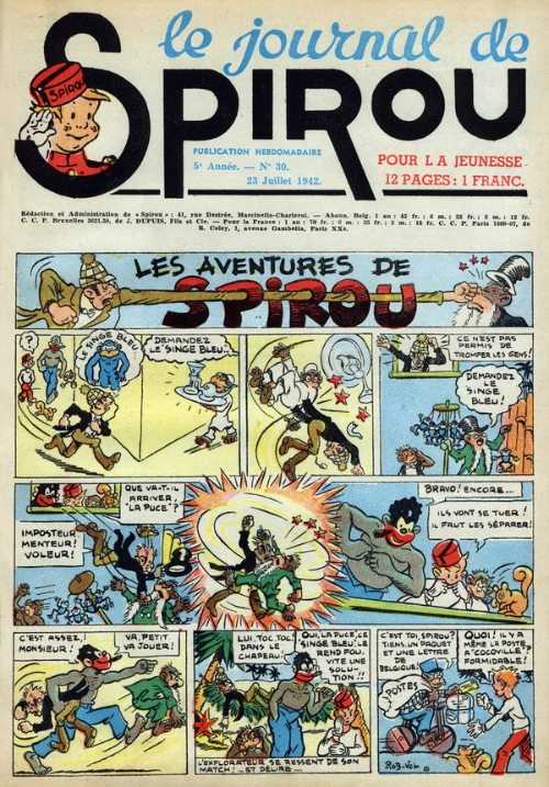 Le journal de Spirou 223