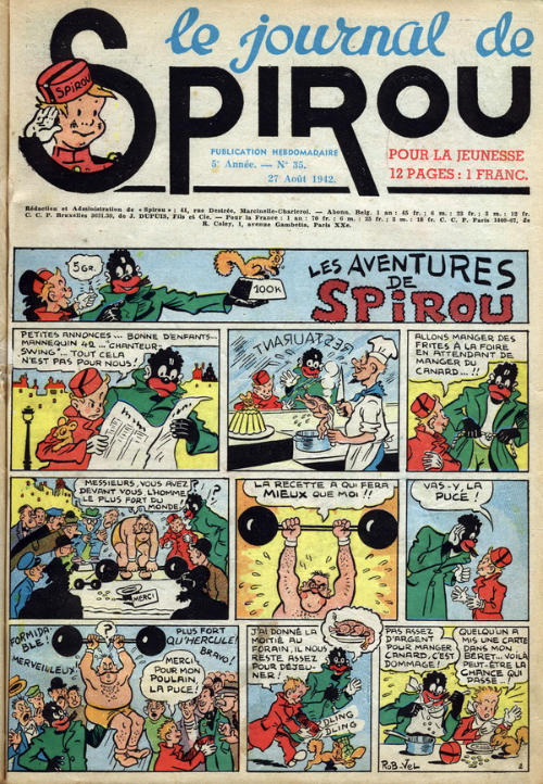 Le journal de Spirou 228