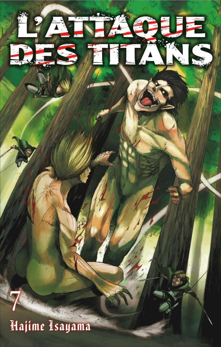 L Attaque Des Titans 4 Double France Loisirs Manga