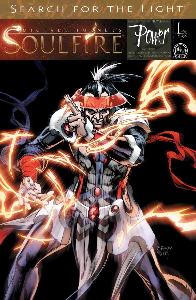 Michael Turner's Soulfire Power 1