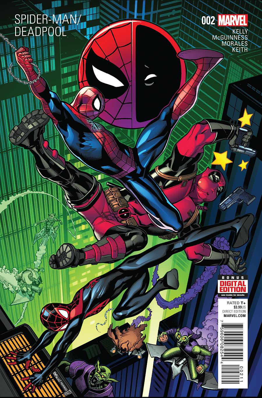 Spider-Man / Deadpool 2 - Isn't It Bromantic? Part Two