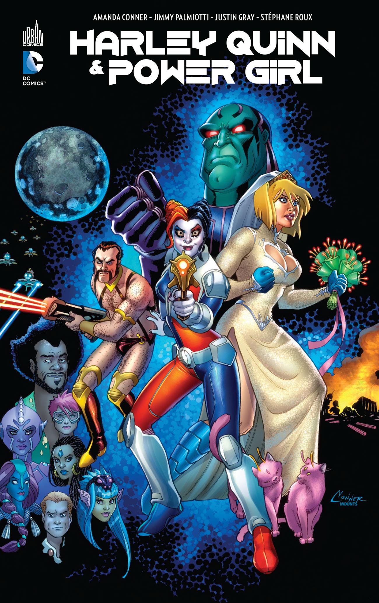 Harley Quinn & Power Girl 1