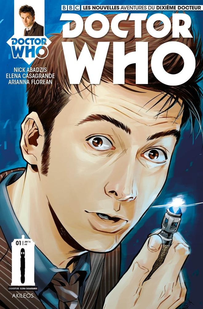 Doctor Who Comics - Dixième Docteur 1