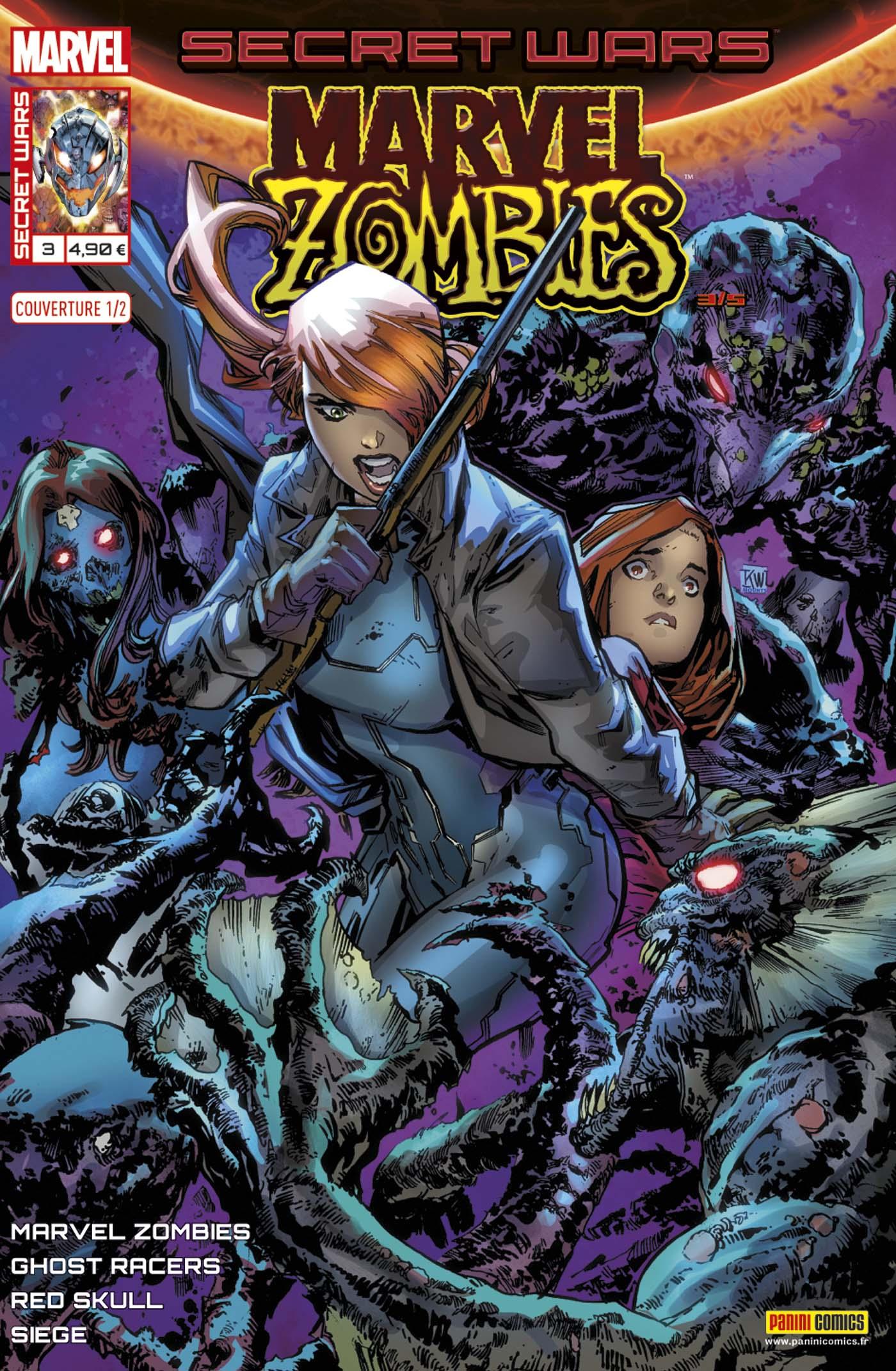 Secret Wars - Marvel Zombies 3 - Couverture 1/2 (Ken Lashley – tirage 50%)