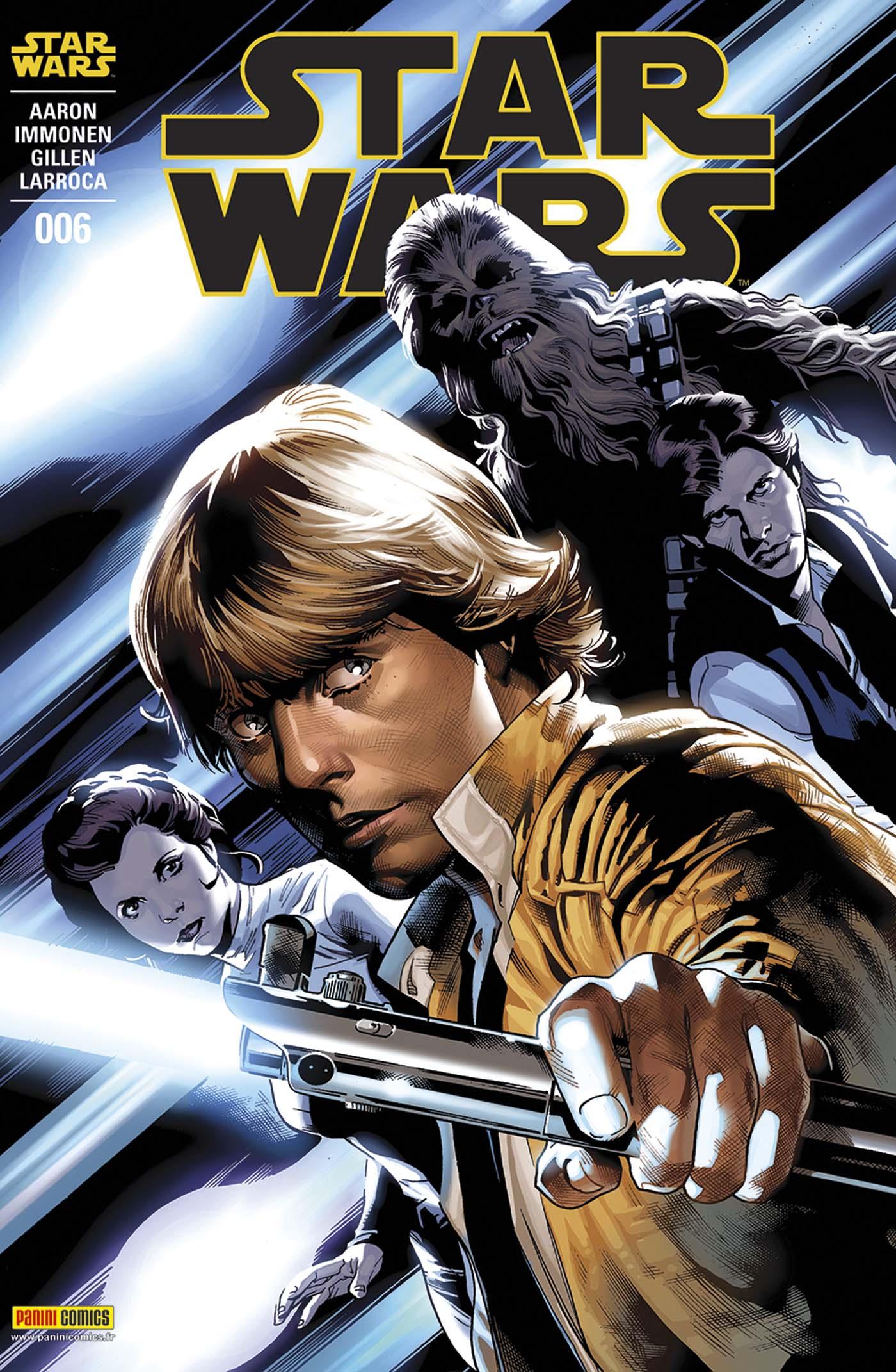 Star Wars 6 - Couverture 1/2 (Stuart Immonen  – tirage 50%)