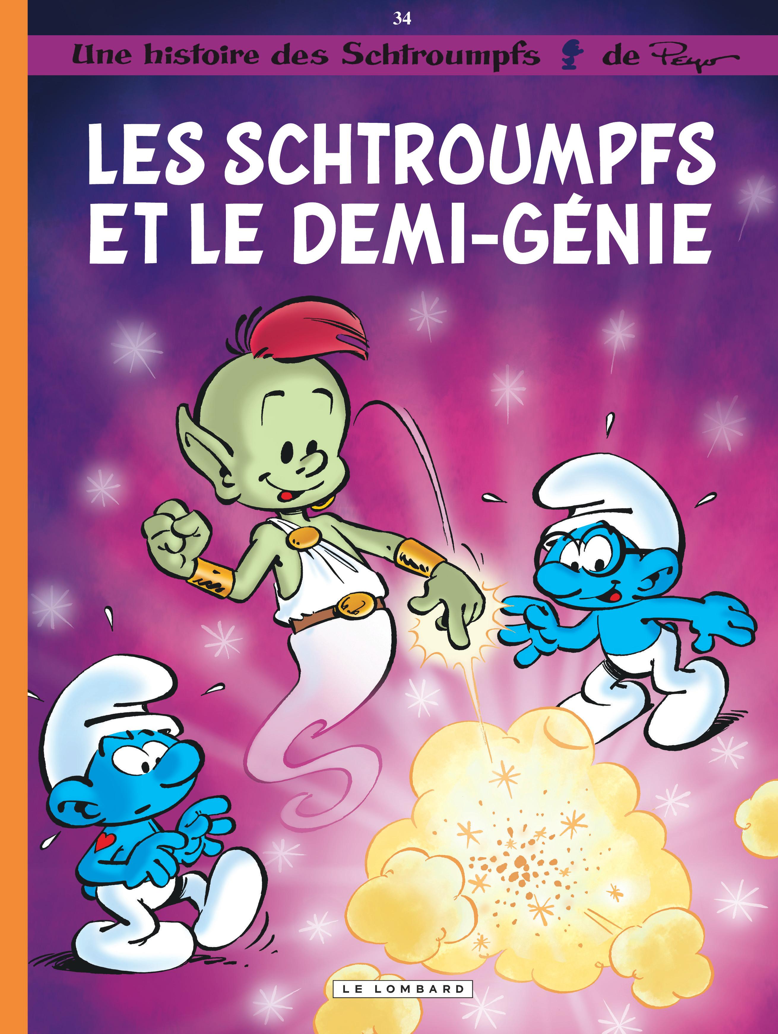 Les Schtroumpfs 34 - Les schtroumpfs et le demi-génie