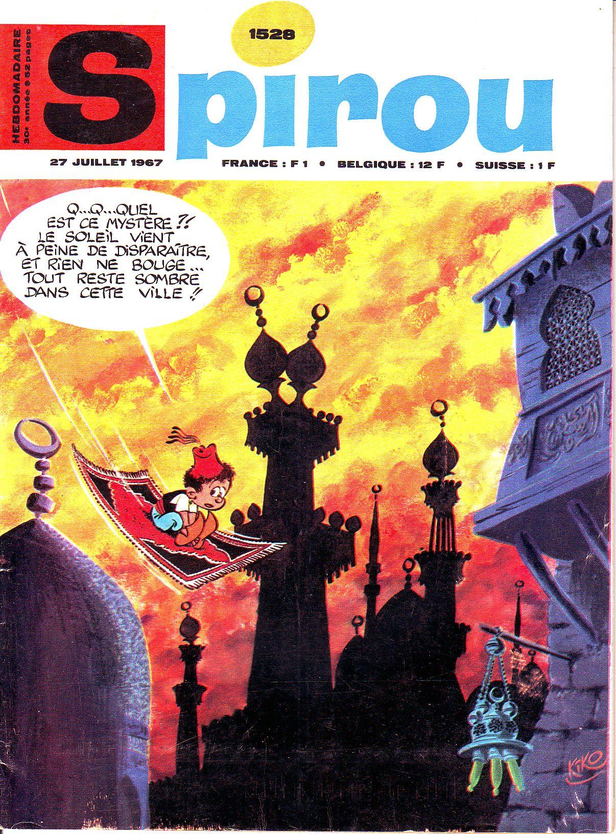 Le journal de Spirou 1528