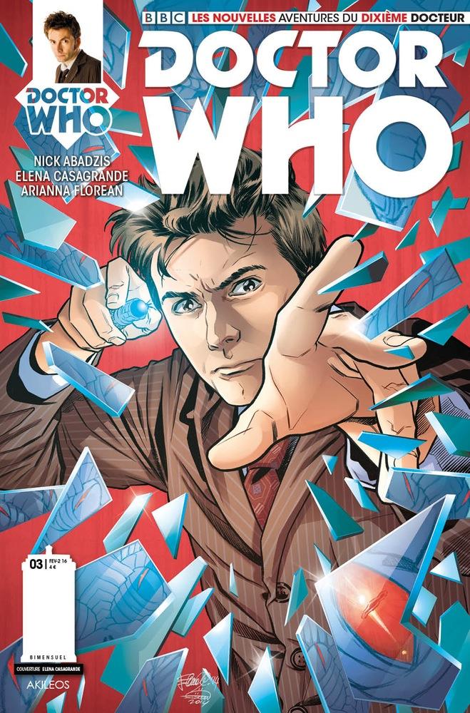 Doctor Who Comics - Dixième Docteur 3