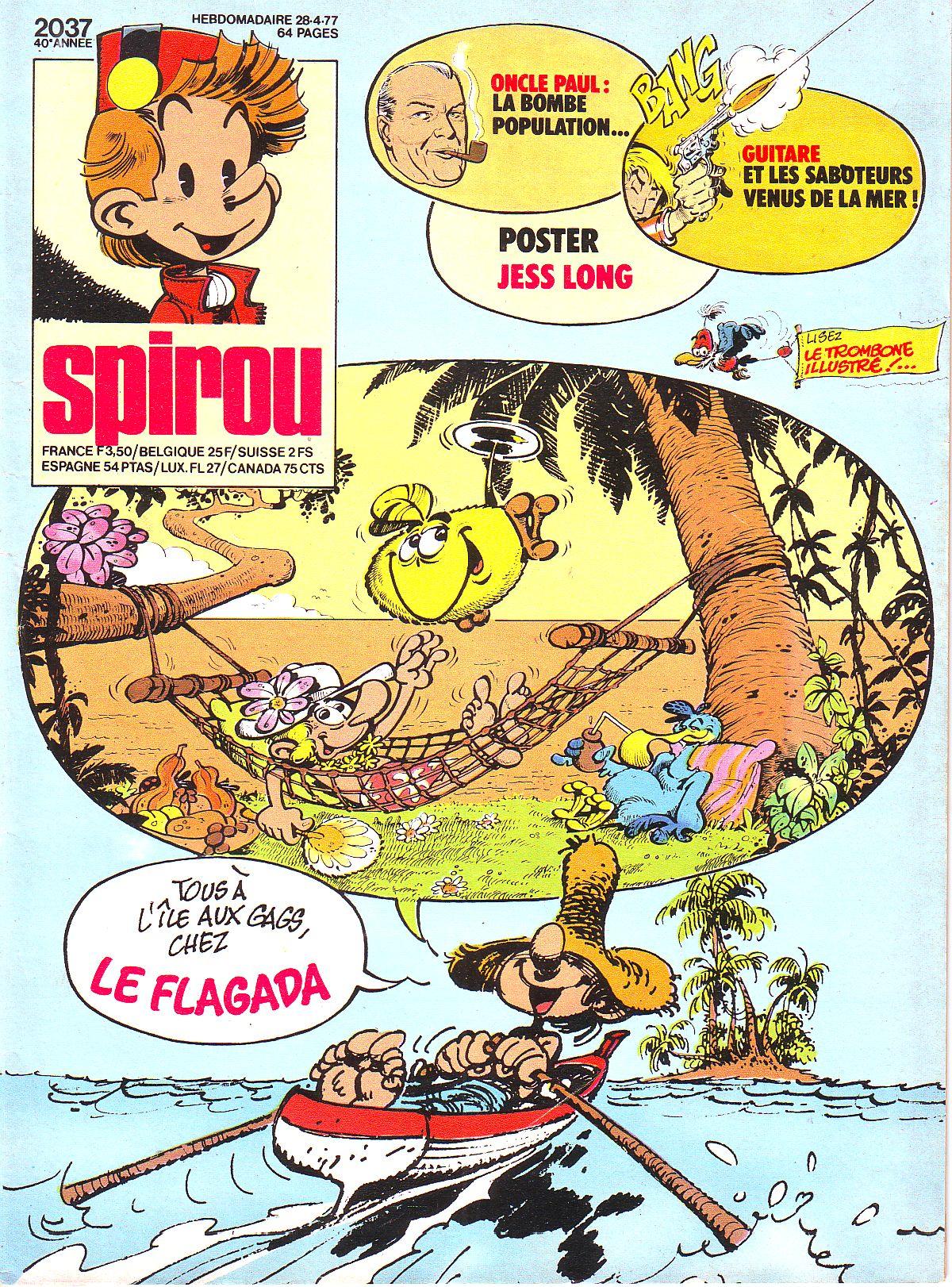 Le journal de Spirou 2037