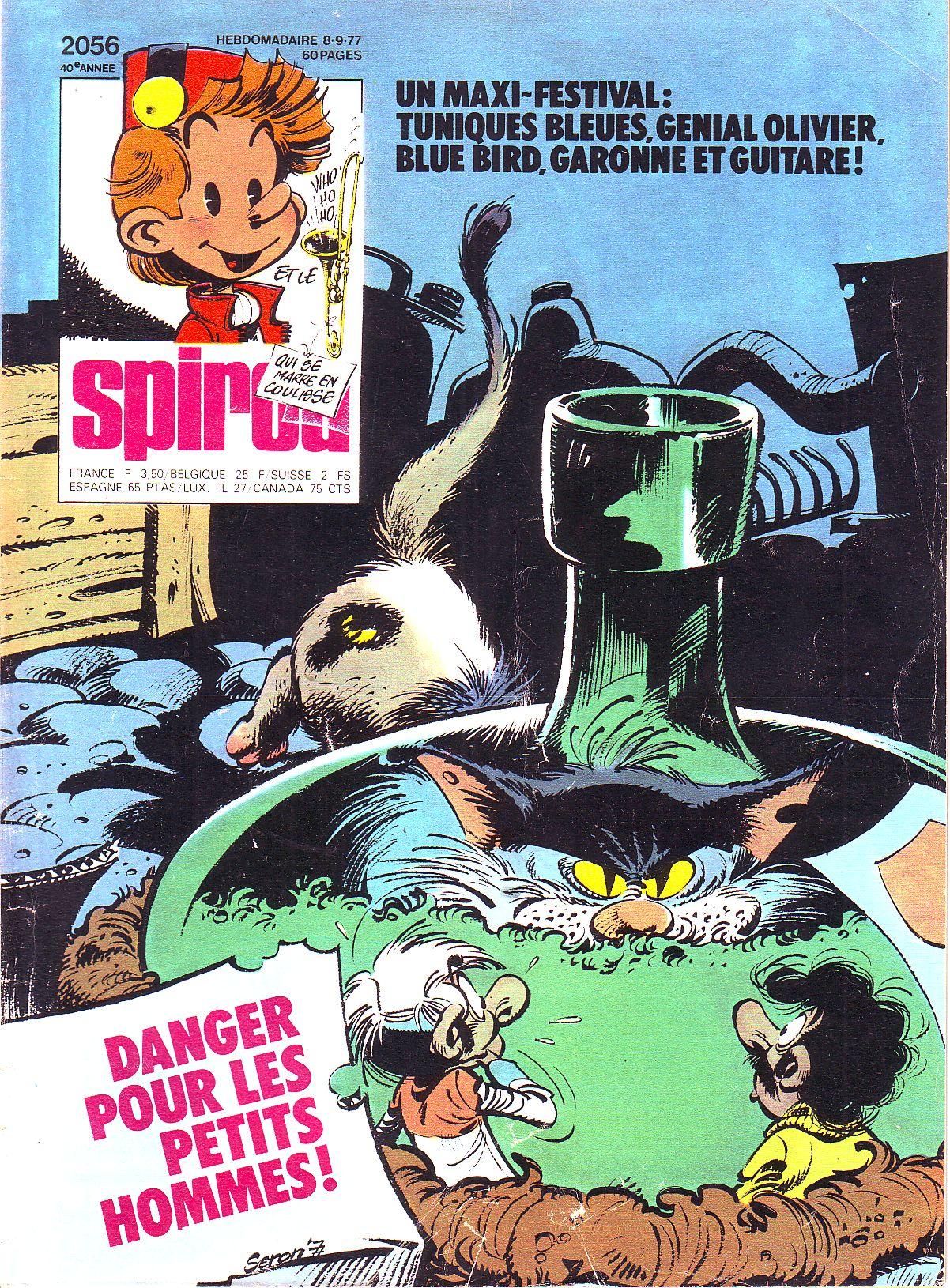 Le journal de Spirou 2056