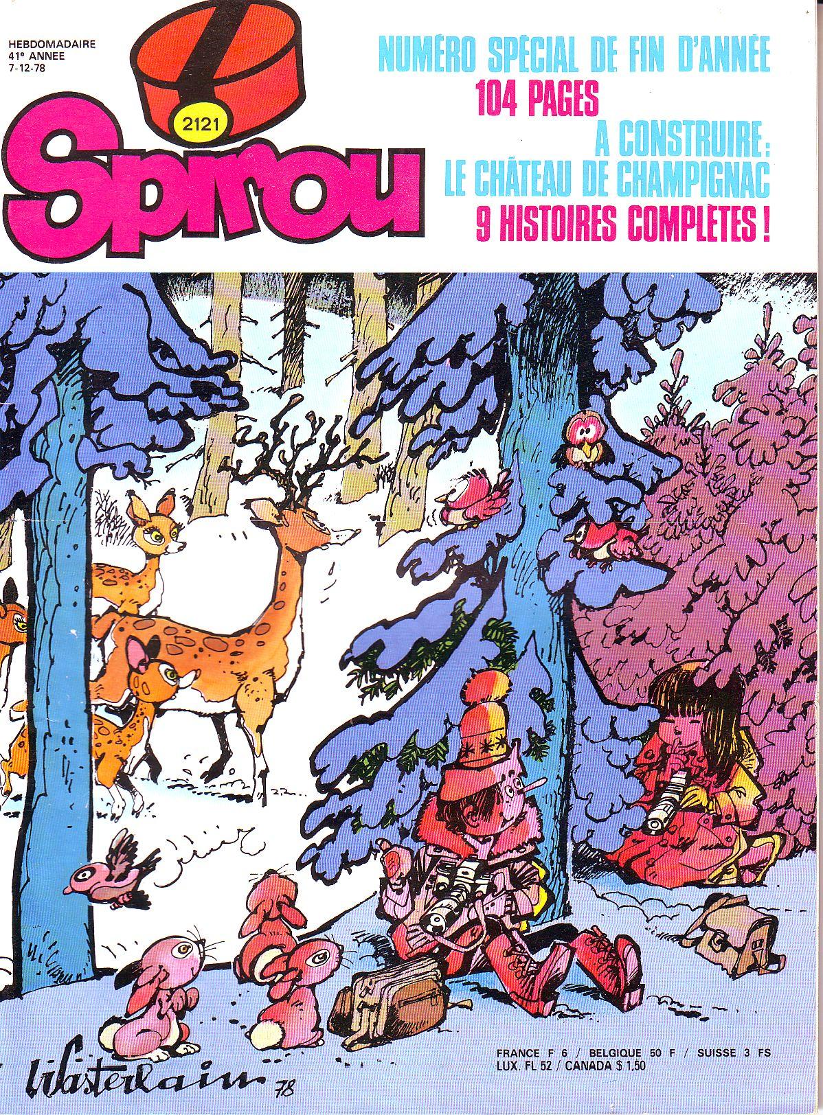 Le journal de Spirou 2121