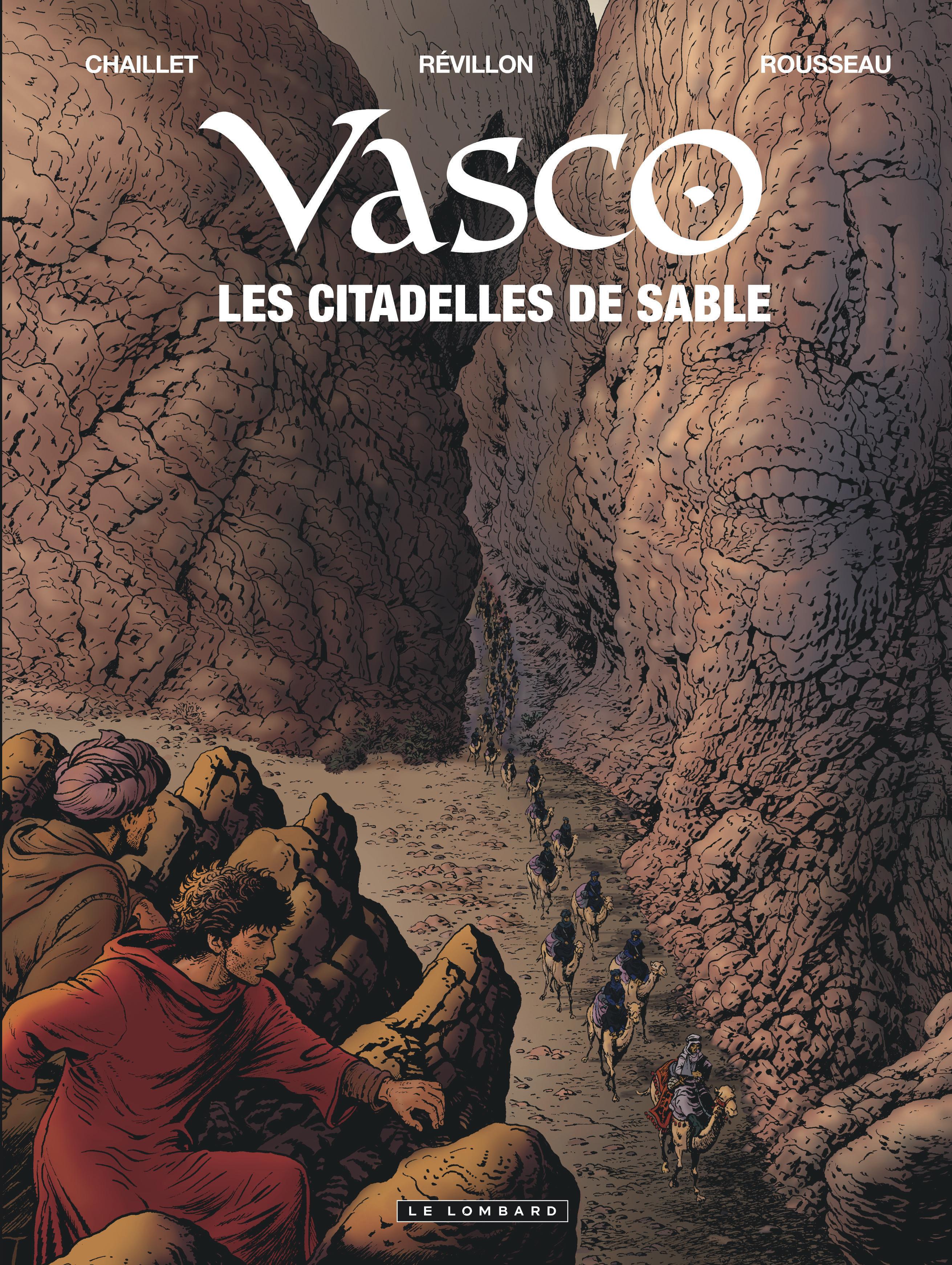 Vasco 27 - Les citadelles de sable