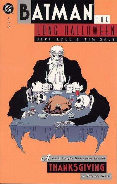 Batman - Un Long Halloween 2 - Chapter Two: Thanksgiving