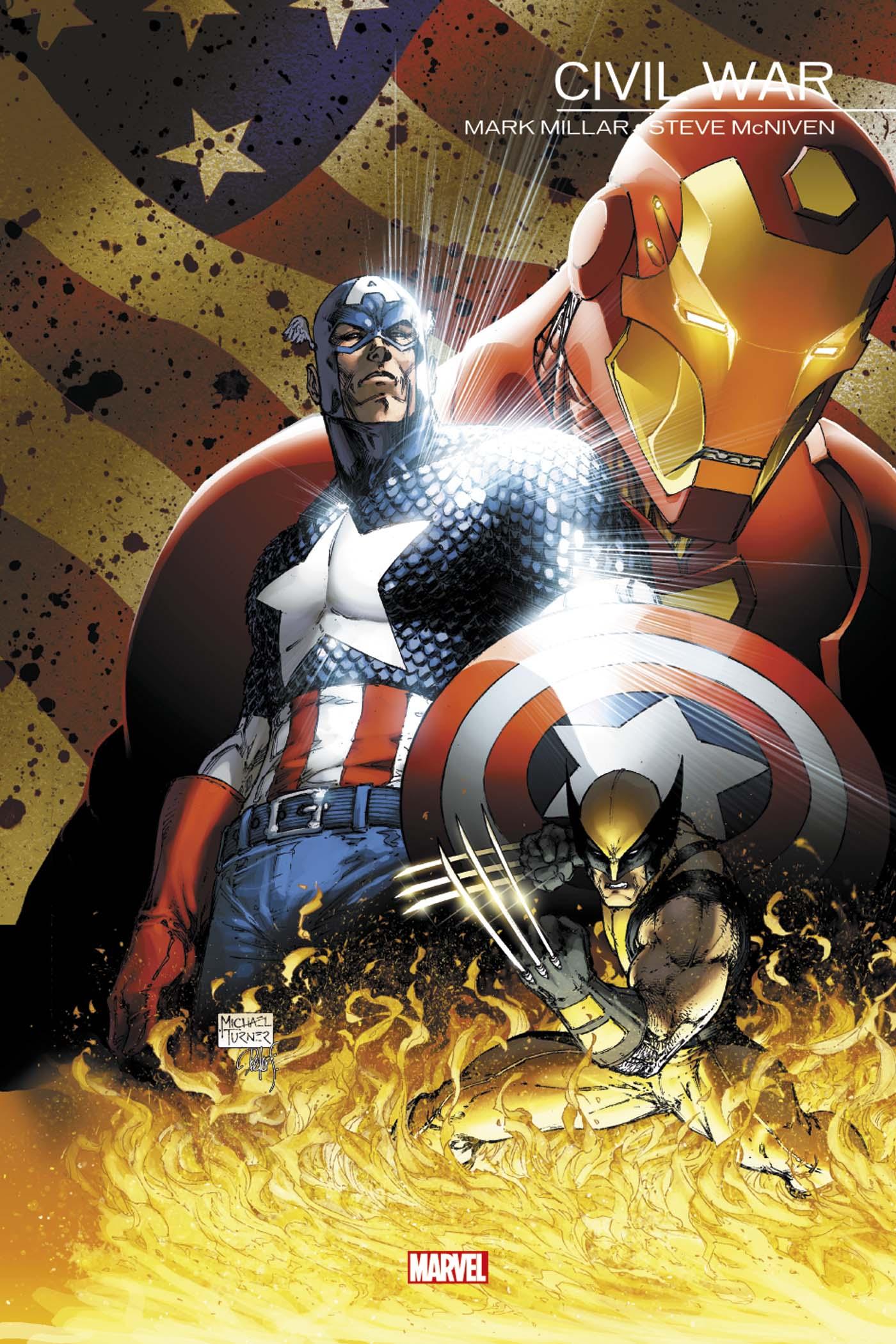 Marvel Events - Civil War 1 - civil War