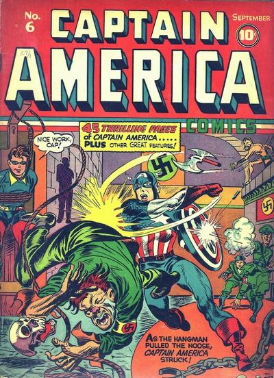Captain America Comics 6