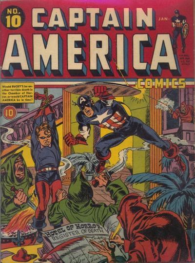 Captain America Comics 10