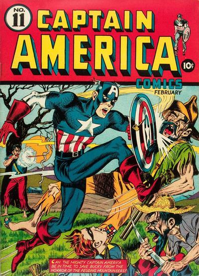 Captain America Comics 11
