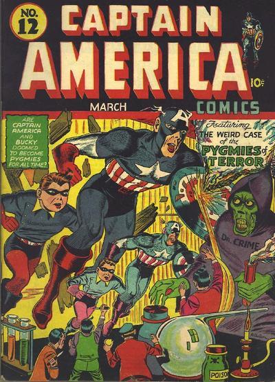 Captain America Comics 12