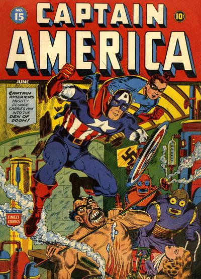 Captain America Comics 15
