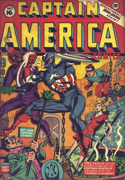 Captain America Comics 16