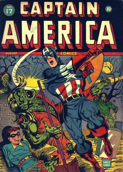 Captain America Comics 17