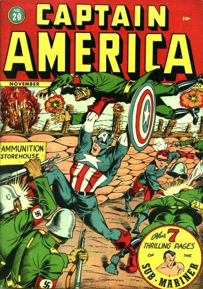 Captain America Comics 20