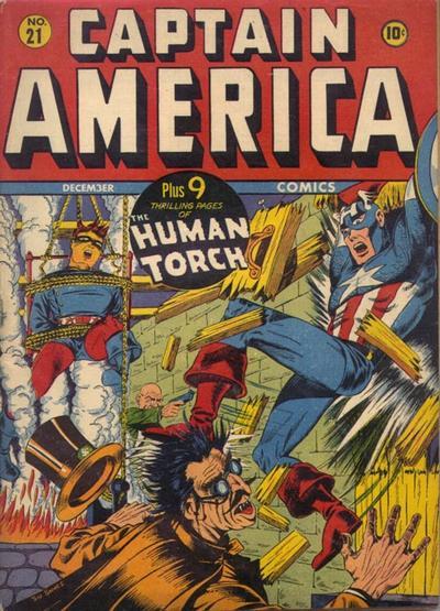 Captain America Comics 21