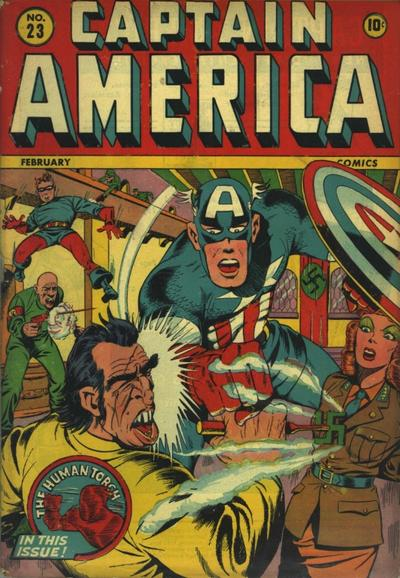 Captain America Comics 23
