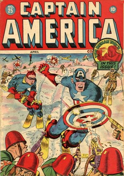 Captain America Comics 25