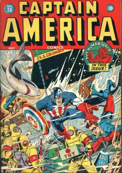 Captain America Comics 26