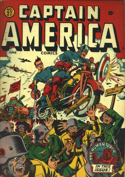 Captain America Comics 27