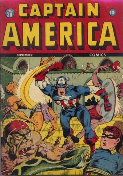 Captain America Comics 30