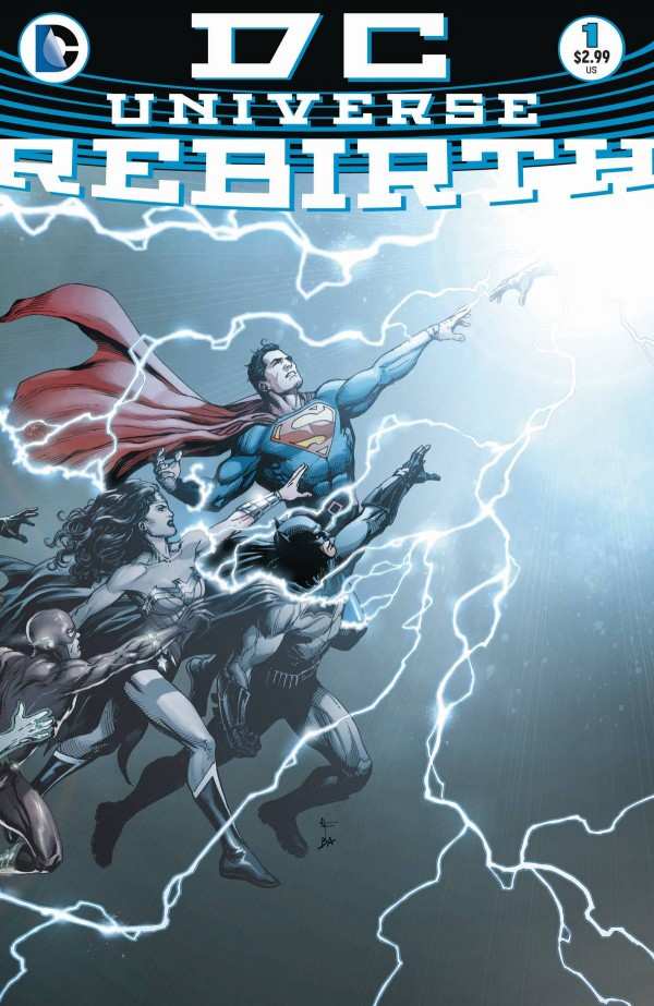 DC Univers Rebirth 1 - 1 - cover #1