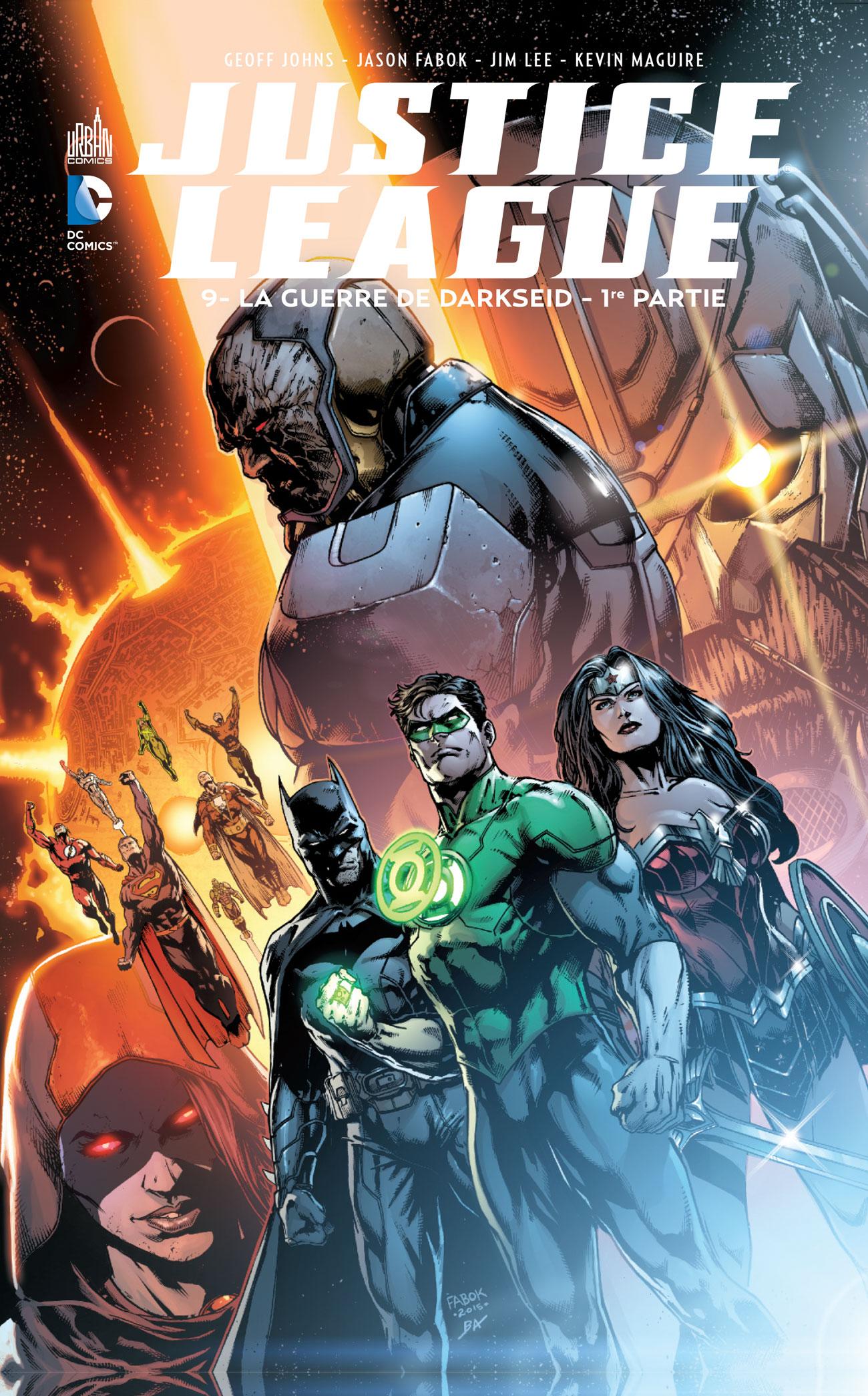 Justice League 9 - La guerre de Darkseid - 1ère partie